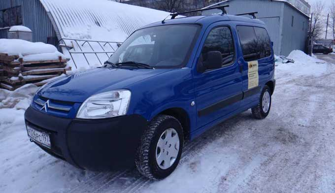 Citroen Berlingo инивэн в аренду