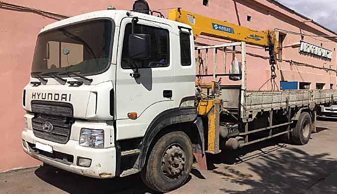 Манипулятор 8 тонн/ 8 тонн, нанять в прокат с водителем - 2 фото
